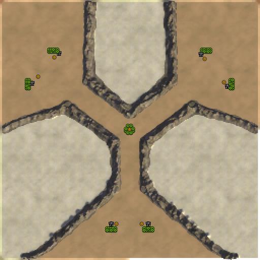 Карта triprout rectum edition