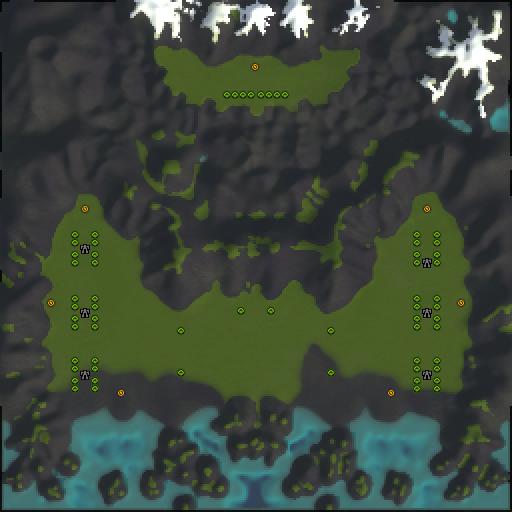 Карта valhalla