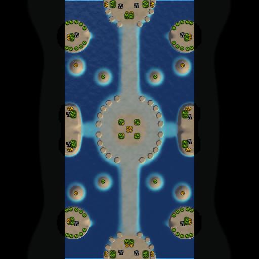Карта water way havoc