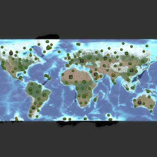 Карта world domination 40x40 13p squib
