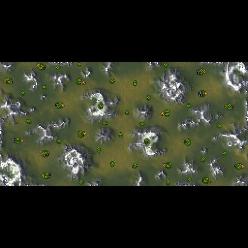 Карта world of hope